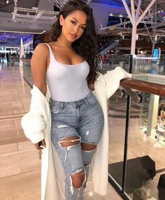 Best Spring Outfits Casual Part 21 Fashion Mode, Look Fashion, Girl Fashion, Fashion Outfits, Womens Fashion, Fashion Trends, Mode Outfits, Fall Outfits, Summer Outfits