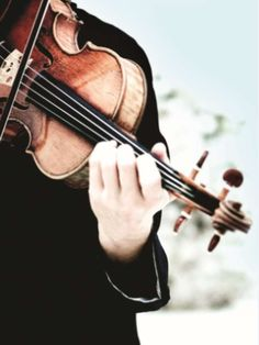 Habe Geigenspieler immer bewundert...