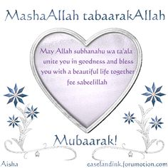 97 best islamic greetings images on pinterest islamic allah and marriage congrats m4hsunfo