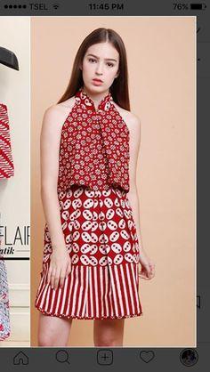 Blouse Batik, Batik Dress, Mode Batik, Batik Kebaya, Batik Fashion, Batik Pattern, Brokat, Ankara, African Fashion