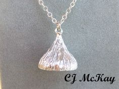 Sterling Silver Candy Kiss CK05S by JewelrybyCJMcKay on Etsy, $125.00