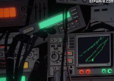 anime sci fi computer future cyberpunk futuristic ui visualpunker visualpunk fui gif