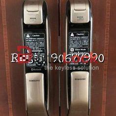 MyDigitalLock selling Samsung Digital Lock for HDB Door and Condo Laminate Door unlock Using Smartphone and WI-FI in Singapore / Bukit Batok / 9161 6282 Digital Lock, Door Locks, Smart Home, Singapore, Wifi, Samsung, Doors, Gate, Phone