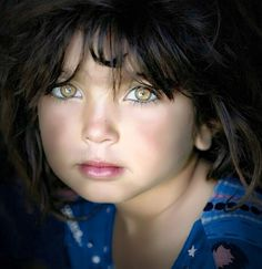 """Beauty is in the eye of the beholder"". Most Beautiful Eyes, Stunning Eyes, Gorgeous Eyes, Pretty Eyes, Cool Eyes, Beautiful People, Beautiful Children, Beautiful Babies, Amber Eyes"