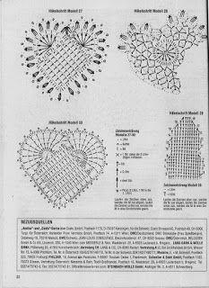 * Mi terapia el tejido *: Gráficos de corazón