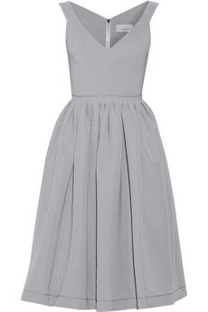 Preen by Thornton Bregazzi Flo satin-crepe dress | NET-A-PORTER