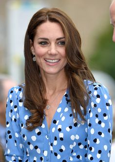 Catherine, Duchess of Cambridge visits Stewards Academy with HeadsTogether on September 16, 2016 in Harlow, England.