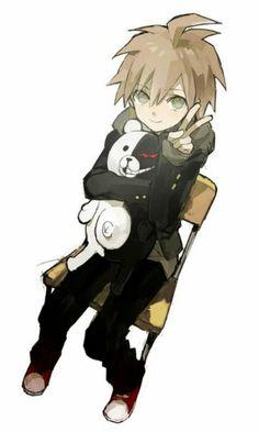 Naegi & Monokuma Hug