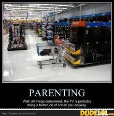...meanwhile at Wal-Mart