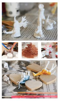 : Plastic Animal Crafts