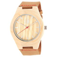 Earth Wood Aztec Men's Leather-Band