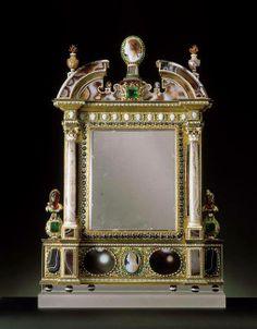 Flacon parfum en forme de gourde charles petit orf vre for Miroir brot paris mirrors