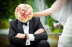 Funny wedding photo set. For inspiration.