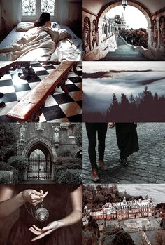 "ilvermorny school of witchcraft and wizardry - ""It stands at the highest peak of Mount Greylock, where it is concealed from non-magic gaze by a variety of powerful enchantments, which sometimes manifest in a wreath of misty cloud. Witch Aesthetic, Aesthetic Collage, Character Aesthetic, Aesthetic Writing, Hogwarts, Witch School, Arte Obscura, Harry Potter Aesthetic, Fantastic Beasts And Where"