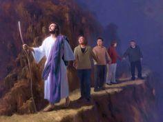 Yeshua HaMashiach, Jesus Christ, speaks: Keep the right track!
