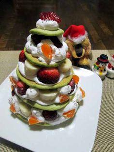 フルーツたっぷり☆パンケーキツリー : candy&sarry&・・・