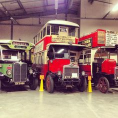 Behind the scenes: Depot bus collection!