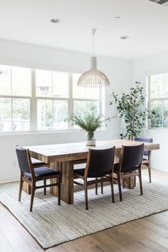 Vivido — Pure Salt Interiors Chunky Dining Table, Large Round Dining Table, Grey Dining Tables, Dining Table Lighting, Dining Table Rug, Reclaimed Wood Dining Table, Salvaged Wood, Bamboo Dining Chairs, Leather Dining Chairs