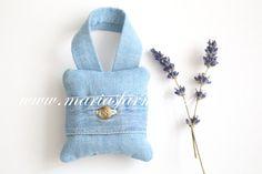 Vintage Denim Handmade Small Fragrant Dried by MariasFarmhouse