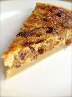 Caramelized Onion and Pancetta Quiche