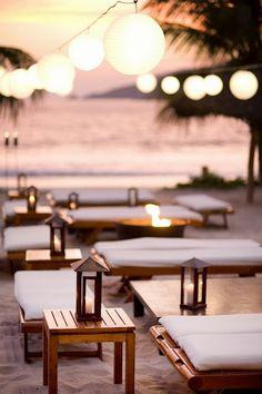 Bruiloft Inspiratie : Bruiloft op het strand: decoratie