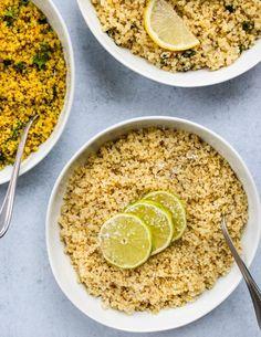 How To Cook & Season Quinoa: 3 Recipes | Walder Wellness, Dietitian Quinoa Recipes Easy, Whole Food Recipes, Vegan Recipes, Cooking Recipes, Dinner Recipes, Lunch Recipes, Delicious Recipes, Free Recipes, Yummy Food