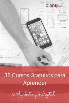 38 cursos gratuitos para aprender marketing digital #marketingdigital #marketing #cursosgratuitos