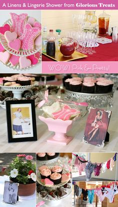 Fab Feature: Lingerie bridal shower ideas from Glorious Treats!