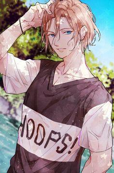 Cool Anime Guys, Cute Anime Boy, Anime Boys, Otaku Anime, Manga Anime, Anime Art Fantasy, Manga Boy, Boy Art, Anime Style