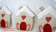 Country style: Christmas ornaments part 2