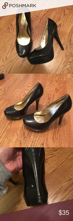 Nine West pumps Black, round toe, 4 inch pump Nine West Shoes Heels