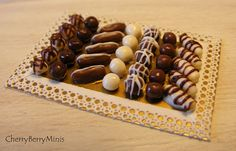 12th Scale Doll House Tray Of Luxury by Cherryberryminis on Etsy