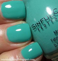 Review & Swatches: Sinful Colors Teal the End, Race Rubber and Prime Purple