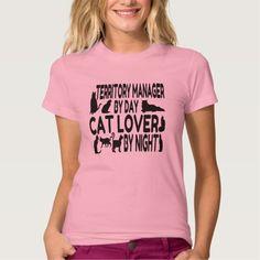 Cat Lover Territory Manager T Shirt, Hoodie Sweatshirt