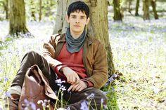 Colin Morgan :)  First Merlin promo pic for season 5!