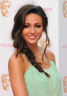 Pin for Later: 20 Pretty New Plaits to Amp Up Your Summer Hairstyle Michelle Keegan