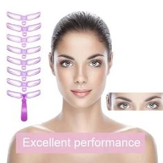 8 in 1 Eyebrow Shaping Stencil Kit – Eyebrows Eyebrow Shaper, Brow Shaping, Contour, Eyebrow Template, Eyebrow Tutorial, Eyebrow Styles, Eyebrow Stencil, Makeup Stencils, Eyebrow Makeup