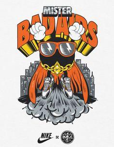 NIKE   T-Shirt Graphics by Diogo Machado, via Behance