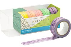 This collection of macaron washi tape. | 18 Cute AF Products That Are Perfect For People Obsessed With Stationery
