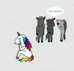 Unicorn may be different but they are majestic and magical!