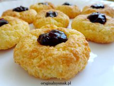 Ciasteczka ryżowe | Oryginalny smak Sweet Recipes, Cake Recipes, Food Design, Christmas Baking, Sweet Tooth, Good Food, Brunch, Food And Drink, Cooking Recipes