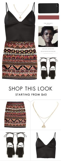 """Unbenannt #180"" by holunderbluete ❤ liked on Polyvore featuring H&M, Yves Saint Laurent, T By Alexander Wang and Incase"