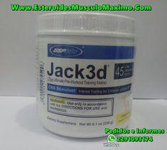 Jack3d 45 servicios - precio ( $440 Pesos )Oxido nitrico - Usp Labs