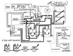 Harley-Davidson XLH Sportster 1974 electric diagram