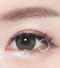 When shopping for natural looking cosmetic contacts, look for those which have a spiky design surrounding the pupil which helps it fuse with your natural eye color. SHOP NOW >> #eyecandys