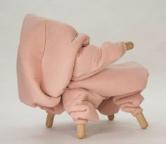 when psychotic Scandinavians design furniture. Art Furniture, Furniture Design, Fabric Photography, Pms, Take A Seat, Backrest Pillow, 3d Design, Scandinavian Design, Effort