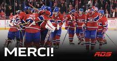 Merci pour cette belle saison, Bonne été à tous!! Montreal Canadiens, Basketball Court, Sports, Thanks, Hs Sports, Sport