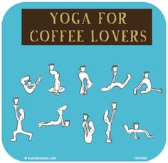 Yoga for coffee lovers Coffee Quotes, Coffee Humor, Last Lemon, I Love Coffee, Coffee Time, Crazy Friends, Yoga Quotes, Yoga Meditation, Inspire Me