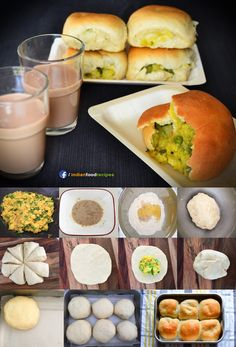 Palya Bun (Iyengar Bakery Style) recipe step by step. I am sharing palya bun or stuffed potato bun recipe. Palya means 'vegetables sautéed with spices' in Kannada, which is usually served as a side dish. In this dish, a potato palya is stuffed inside a bun and is baked to perfection.