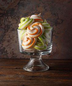 Tangerine Dream Meringue Swirls Recipe